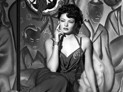 Gene Tierney as Poppy in The Shanghai Gesture.