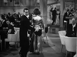 Cary Grant gets mixed up with Susan Vance and her zipper