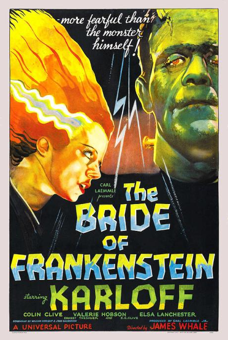 Poster of The Bride of Frankenstein