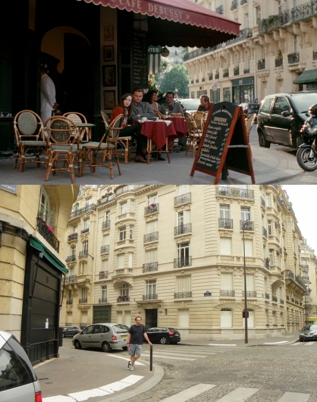 inception location - Café Debussy