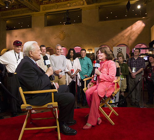 Osborne interviews Ann Blyth on Saturday, April 27.