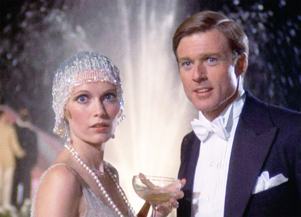 Mia Farrow, Robert Redford in THE GREAT GATSBY (1974)