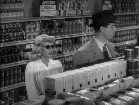Barbara Stanwyck and Fred MacMurray are in a ton of trouble in DOUBLE INDEMNITY
