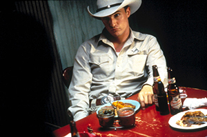 Matthew McConaughey as Buddy Deeds in LONE STAR