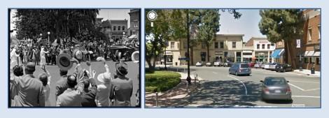 Small town America (Orange, CA) swept up with patriotic fervor - The Big Parade.
